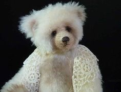 "15"" Abelene, Artist Mohair Teddy Bear by Custom Teddys"