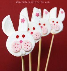 rabbit marshmallow