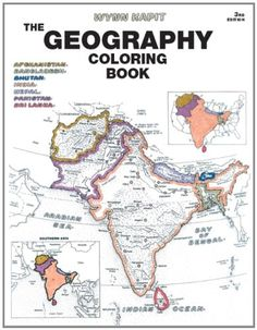 Geography Coloring Book Edition By Wynn Kapit
