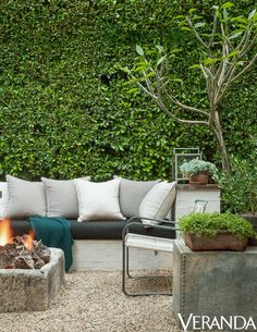 Add Privacy With Plants: Scott pruned dense greenery to create living walls in his yard. They add an element of seclusion, without making the space feel claustrophobic.   Photos courtesy of Lisa Romerein for Veranda
