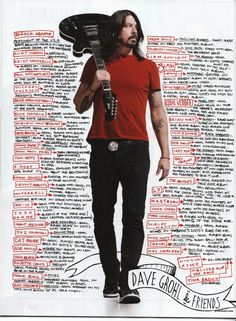 Dave Grohl & Friends... This list keeps growing!