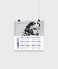 "Dalmatian - Calendar Poster 10""x10"""