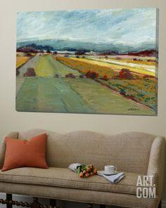 Pastel Landscape VIII Loft Art by Jacques Clement at Art.com