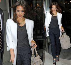 Azelia For Fashion Blog: Jessica Alba