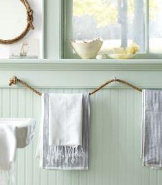rope towel holders