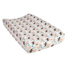 Trend Lab Scandi Forest Deluxe Flannel Changing Pad Cover