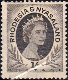 Postage Stamps Rhodesia and Nyasaland 1954 Queen Elizabeth II SG 9 Fine Used Scott 149 For Sale Take A LOOK
