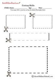 Afbeeldingsresultaat voor knipoefeningen werkbladen
