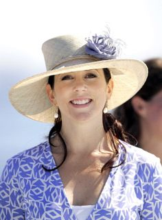 August 18, 2005--Crown Prince Frederik Crown Princess Mary Of Denmark Attend The Opening Ceremony Of The Copenhagen City Beach