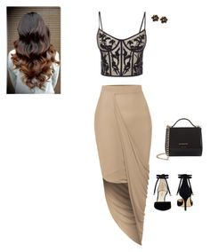 """""""❤❤❤❤"""" by crisseypoooo on Polyvore featuring LE3NO, Alexander McQueen, Nine West, Givenchy and Chantecler"""
