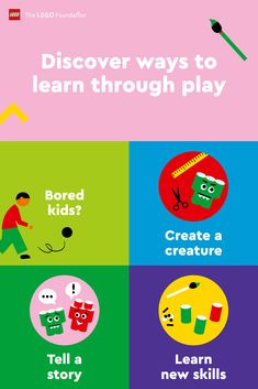 When you play with your kids, they learn vital skills for school and life, helping them #RebuildTheWorld with confidence. Discover more ways to learn through play.