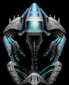 Cyber Jet Pack tattoo design by NeoGzus