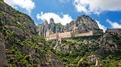 Barcelona, Spain #montserrat #nature #monastery #amazingplace