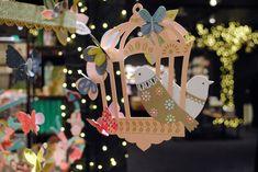 Bird House à la Galerie Imaginaire - Photo par @minilabo Bird Houses, Photos, Christmas Ornaments, Holiday Decor, Illustration, Pretty, Christmas 2015, Spring, Cards