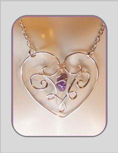 Mom giftsHeart jewelryMother jewelrybirthstone by SpecialMomGifts