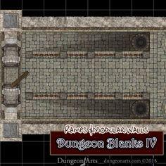 Dungeon Blanks IV – Dungeon Tiles | Dungeon Arts