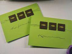 stampin with beemybear: Kommunionkarte