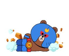 Brawl Stars Hack Cheats - Get Free resources Star Gif, Cony Brown, Little Panda, Cute Love Cartoons, Cartoon Gifs, Line Friends, Line Sticker, Cute Gif, Baby Cats