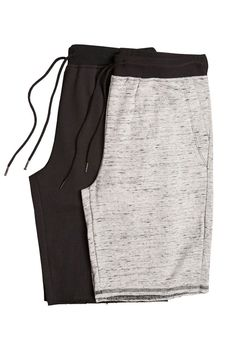 Raw Edge French Terry Lounge Short - 2 Pack