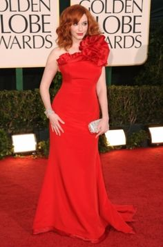 2011 Golden Globe Awards Red Carpet Fashion