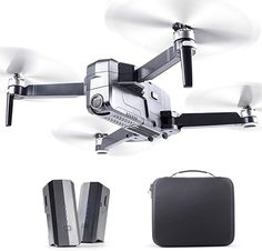 Amazon.com: RUKO F11Pro Drones with Camera for Adults 4K UHD Camera Live Video 30 Mins Flight Time with GPS Return Home Brushless Motor-Black(1 Extra Battery + Carrying Case): Toys & Games Fpv Drone, Drones, Micro Drone, 4k Photos, Drone For Sale, 4k Uhd, Black Edition, Drone Photography, Carry On