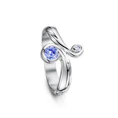 Swirl Rings - Ring - Sheila Fleet Jewellery