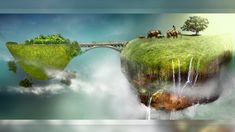 Create Surreal Mini Landscapes in Photoshop