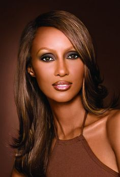 "Iman Mohamed Abdulmajid (Somali: Iimaan Maxamed Cabdulmajiid, Arabic: ايمان محمد عبد المجيد‎) (born July 25, 1955[2]), professionally known as Iman (which means ""faith"" in Arabic), is a Somali-American fashion model, actress and entrepreneur. A pioneer in the field of ethnic cosmetics, she is also noted for her charitable work. She is married to David Bowie."