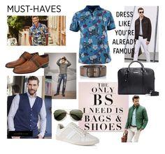 Mannenmode trends en musthave voorjaar 2016 by jj-van-gemert on Polyvore featuring Diesel, me you, men's fashion and menswear