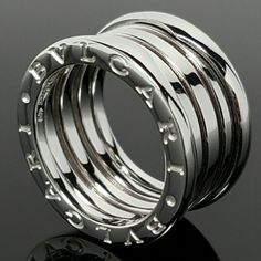 bvlgari 18k white gold b zero 1 4band bulgari ring
