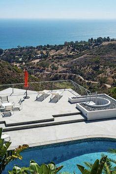 The Mid-Century Modern Pool House, Malibu, California