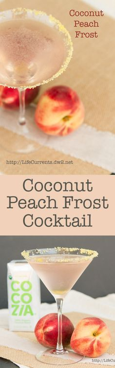 Coconut+Peach+Frost+Cocktail.+light%2c+refreshing%2c+yummy%2c+just+a+perfect+little+drink!