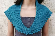 Pretty stole pattern available at Ravelry