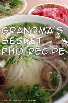 Call me a skeptic, but I don't believe it when people say their pho restaurant uses their grandma's (or another family member's) secret pho recipe. Restaurant Business Plan, Restaurant Consulting, How To Make Pho, Pho Restaurant, Vietnamese Pho, Pho Recipe, Health Department, Learn To Cook, Dinner Recipes