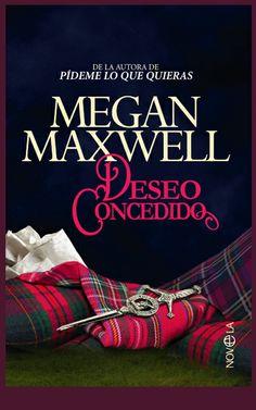 Ilustración y diseño que he realizado para la cubierta de la nueva edición de Deseo Concedido de Megan Maxwell que ya está en imprenta y que editará en breve La esfera de los libros.