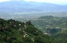 the view from Tegucigalpa, Honduras