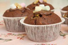 RockyRoad cupcakes - Ihan Kaikki Kotona
