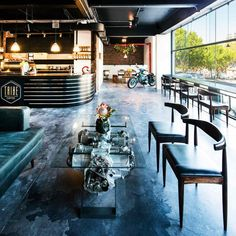 Tribe Coffee + BMW Motorrad South Africa: A specialty cafe within a motorcycle dealership makes for an exciting lifestyle hybrid