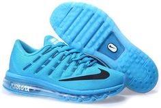 check out 0ded9 0cf3b Air Max 2016 Womens Blue Black Mens Running, Running Shoes For Men, Cheap  Nike