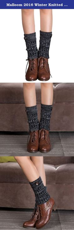 Malloom 2016 Winter Knitted Flanging Mixed Color Ribbon Leg Warmers Socks Boot Cuff. Brand Aim of Malloom: Malloom is dedicated to provide the high quality products and service to worldwide customers, Our products offer unparalleled variety, style, quality. Lifetime Warranty by Malloom: Malloom is committed to 100% satisfaction of our customers,provides lifetime warranty for the case. Any issue with the product, please feel free to contact with us. We will fulfill your request promptly...
