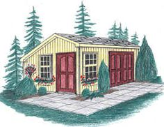 Shed Plans - SIERRA SALTBOX BACKYARD SHED PLANS 12X10 14X10 16X10 by Just Sheds Inc. - Now You Can Build ANY Shed In A Weekend Even If You've Zero Woodworking Experience!