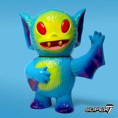 channels their inner bad guy with their Skeletor Bat Boy figure for WonderCon Bat Boys, Japanese Toys, Monster Art, Vinyl Toys, Designer Toys, Rubber Duck, Resin Art, Doll Toys, Action Figures