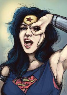 WonderWoman saving the day