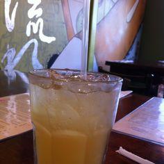 Lightening Bug: Firefly sweet tea vodka & Absolut mango vodka -- Noodle, Decatur, GA