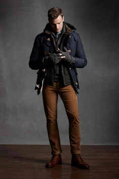 Winter Style for him. Drooling....