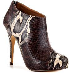 Michael Antonio Women's Michel - Brown Snake PU $59.99 - LOVE!!!