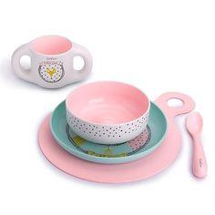 Toddler Feeding Set Suavinex Pink