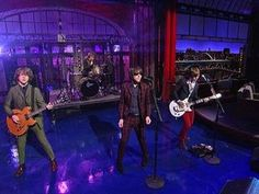 """David Letterman - The Strypes: """"What A Shame"""""""
