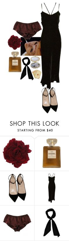 """Fall is finally coming"" by british-junkie ❤ liked on Polyvore featuring Somarta, Chanel, Christian Louboutin, La Fée Verte and donni charm"