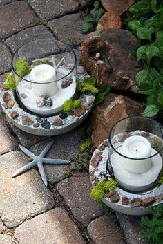 Sweet Something Designs: Concrete Planters & Hurricanes